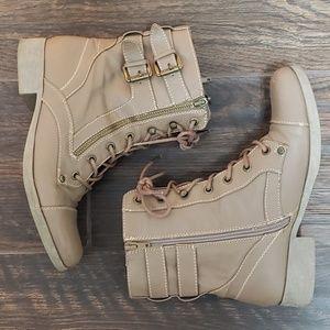Combat Moto Boots Guess